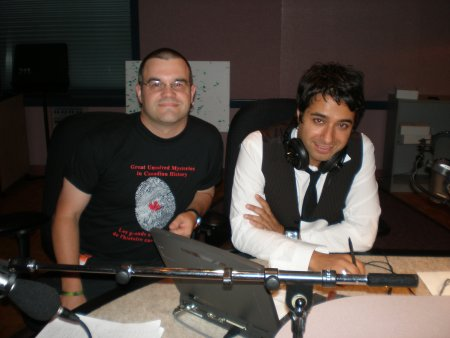Gregory Klages (left) and Jian Ghomeshi (right)
